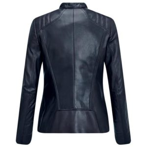 BLOUSON CUIR FEMME Ladies Leather Jacket