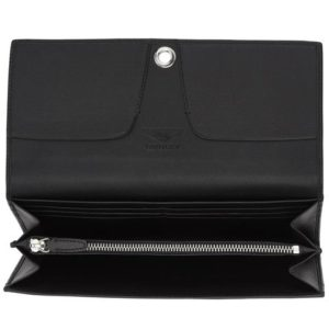 PORTE-MONNAIE EN CUIR Ladies clip leather purse